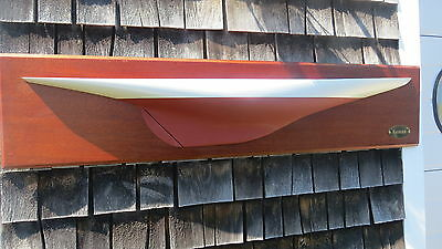 Half Hull Model  Ship Ranger  by Ellsworth Rice  50 inch Top quality
