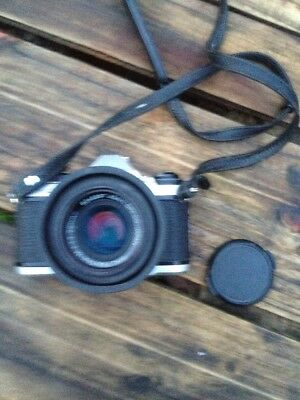 Pentax MEF 35mm Camera With SMC Pentax -M 1: 1.7 50mm Lens. Working