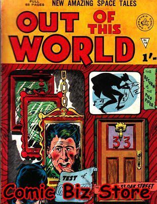 Out Of This World #10 (1979) 1St Printing Uk Bronze Age Alan Class