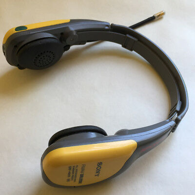 vintage sony walkman sports srf hm55 am fm radio yellow headset rh picclick com Sony Srf M37v Walkman sony srf hm55 user manual
