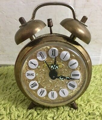 Vintage Jerger Alarm Clock - West Germany