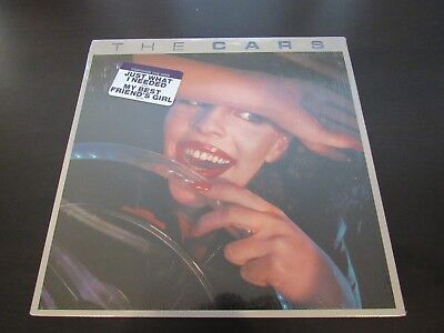 The Cars Self Titled Vinyl LP Elektra 6E-135 With Sticker (Sleeve in Shrink)