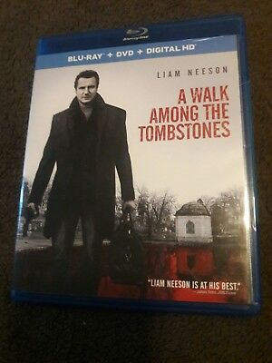 A Walk Among the Tombstones (Blu-ray/DVD, 2015, 2-Disc Set)