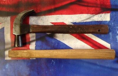 Carpenters Claw Hammer Handle 380mm Long Spotted Gum Australian Made