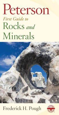 Peterson First Guide: Rocks and Minerals Vol. 19 by Frederick H. Pough (1998,...