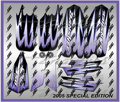 yamaha banshee full graphics decals kit 2005 SE