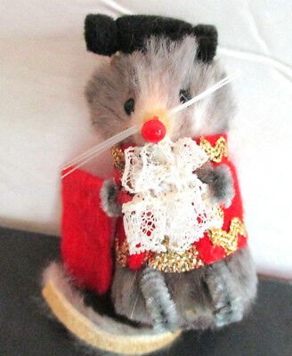 """Bullfighter Mouse,"" 2 "" Furry Mouse,  from The Little Mouse Factory,"