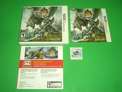 Monster Hunter 3 III Ultimate CIB Complete GREAT COND Nintendo 3DS! AUTHENTIC!