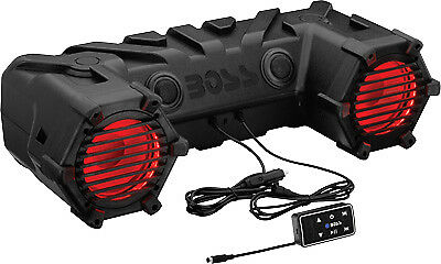 Boss 450 Watt LED Bluetooth Stereo System Black