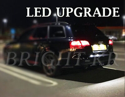 Audi A3 A4 A6 Number Plate Xenon White 7000K Led Light Bulbs- Error Free Upgrade