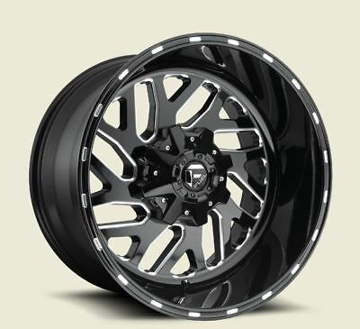 20x8.25 FUEL D581 8x210 ET-221 Gloss Black Rims (Set of 4)