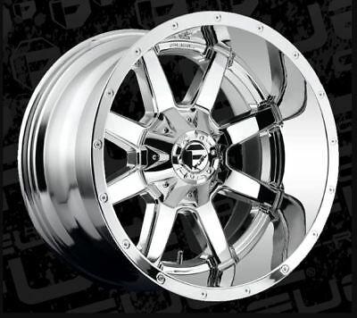 20x12 Maverick D536 8x180 ET-44 Chrome Brand New Wheels (set 4)