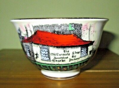 Purchased at Dickens Old Curiosity Shoppe London Rosina Souvenir Tea Cup MINT