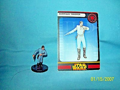 WotC Star Wars Miniatures Alderaan Trooper, RotS 02/60, Republic, Uncommon