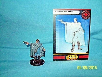 WotC Star Wars Miniatures Captain Antilles, RotS 06/60, Republic, Rare