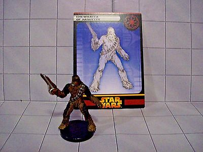 WotC Star Wars Miniatures Chewbacca of Kashyyyk, RotS 07/60, Republic, Very Rare