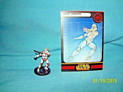 WotC Star Wars Miniatures Clone Trooper, RotS 08/60, Republic, Common
