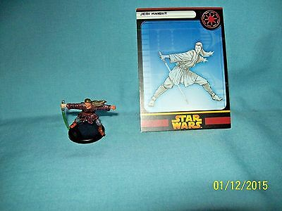 WotC Star Wars Miniatures Jedi Knight, RotS 12/60, Republic, Uncommon