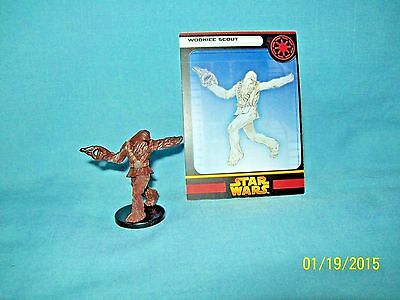 WotC Star Wars Miniatures Wookiee Scout, RotS 23/60, Republic, Uncommon