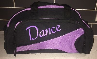 Dance Duffel Bag - Purple New Stock