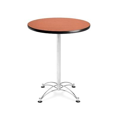 OFM ROUND Lunchroom Table In Cherry PicClick - 30 inch round office table