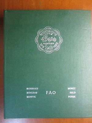 1973 to 1975 26 COINS & ONE NOTE UNC SET IN GREEN FOLDER FOOD FOR ALL FAO