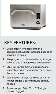 Comcater Menumaster Turbo Oven