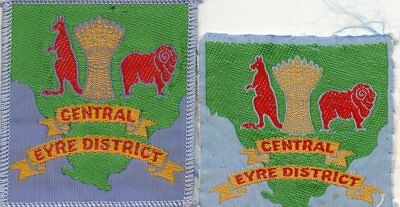 S A   SCOUT BADGE      CENTRAL EYRE x 2