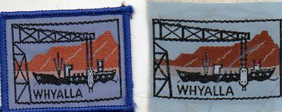 S A   Scout Badge     Whyalla X 2