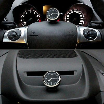 Mechanics Auto uhr Car Mini Quarzuhr clock Pointer borduhr KFZ Interior Decor