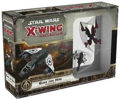 Star Wars - X-Wing Miniatures Game - Guns For Hire Expansion Pack - Fantasy Flig
