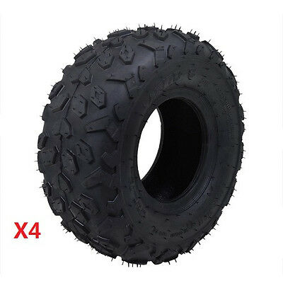 4x 145/70-6 Front Rear Tire only Tyre 50/90/110/125cc Quad ATV Go Kart Buggy