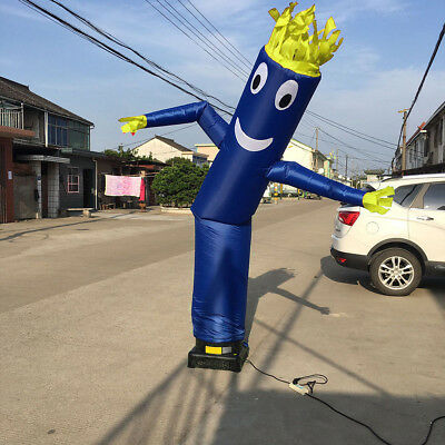 10ft Inflatable Advertising Air Sky Dancer Tube Puppet Flag Wavy Man Wind Dancer