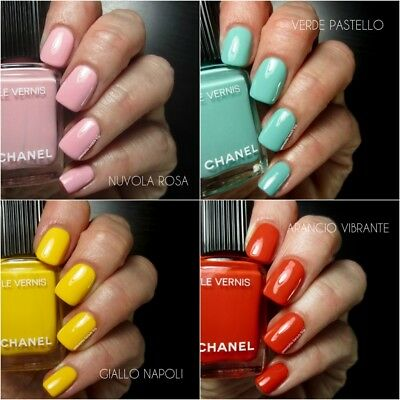 Chanel Vernis A Ongles 590 verde pastello