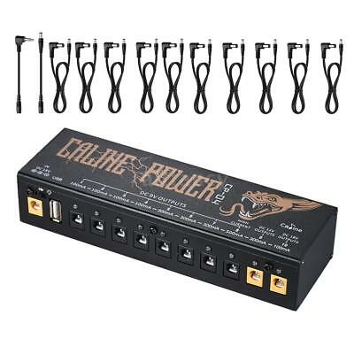 Caline CP-04 Compact Size Guitar Effect Power Supply Station Distributor 10 E6J1