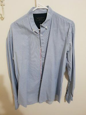 Industrie Shirt Mens Size L 41-42 Tailored Fit