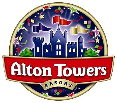 Alton Towers Tickets x2 13th June 2018 13/06/18