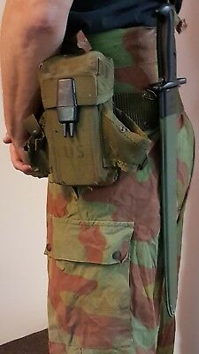 1x US Army M16 Ammo Mag Pouch Magazine Alice LC2 Bag OD Green Olive