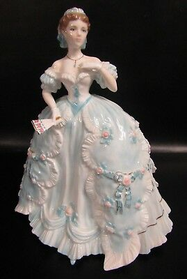 Royal Worcester Limited Edition Figurine - The First Quadrille By Nigel Stevens