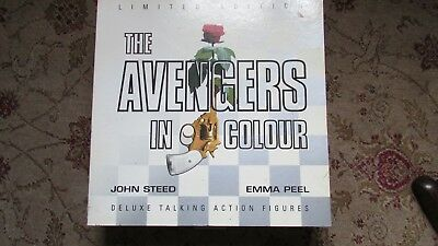 "Product Enterprise Avengers John Steed and Emma Peel 12"" Figures"