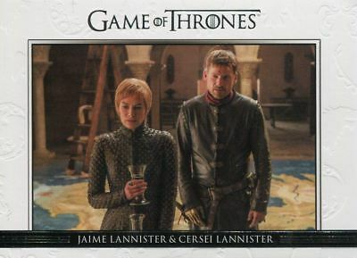 Game Of Thrones Season 7 Relationships Chase Card DL43 Jaime Lannister, Cersei