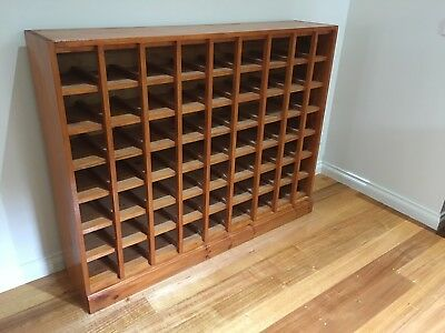 Baltic Pine Wine Rack With Space For 63 Bottles