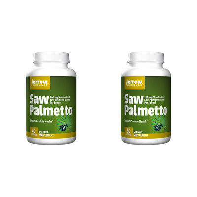 2X Jarrow Formulas Saw Palmetto Prostate Daily Dietary Supplement Healthy Care