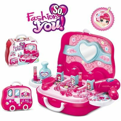Pretend Play Set Kids Dream Suitcase Educational Role Play Boys Girls Toy Set