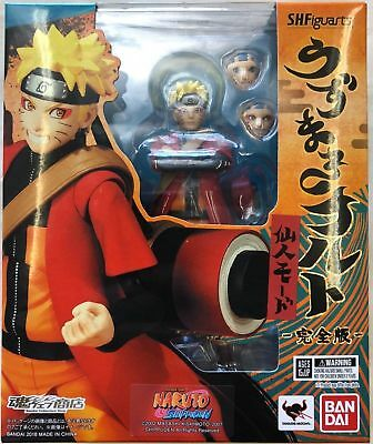 Bandai Shippuden SH Figuarts Naruto Uchiha Advanced Sage Mode Action Figure USA