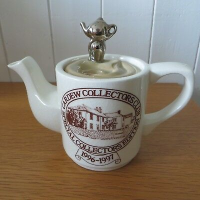 1996 Special Edition Collectors Club Cardew Mug Of Tea Coffee One Cup Teapot