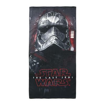 Boys Official Star Wars The Last Jedi Bath Beach Holiday Quick Easy-Dry Towel