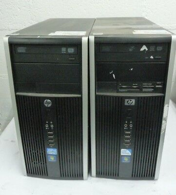 Job Lot x 2 HP Compaq 8200 HP Compaq 6000 i3 2120 E5700 2GB 3GB 320GB 500GB