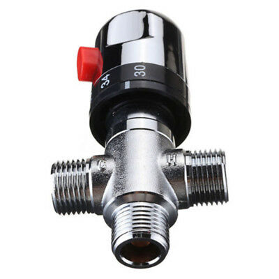 Bathroom Hot Silver Control Mixing Valve Switch Thermostatic 0.03-1MPa Safety