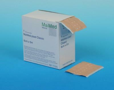 MaiMed Plast Classic Wundschnellverband 8cm x 5m unsteril 1St PZN: 4002875